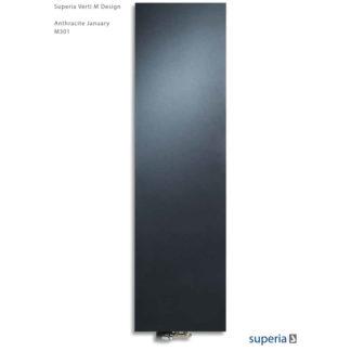 Superia Verti M Design vlakke voorzijde Antracite January